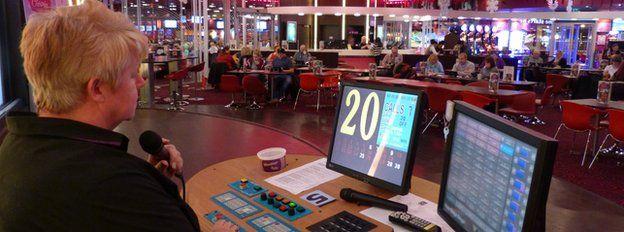 Nottingham bingo hall