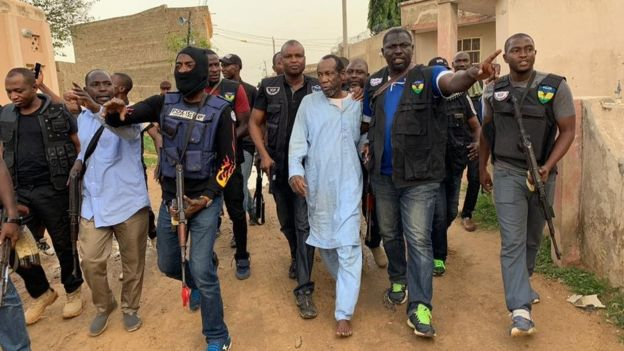 Buhari ADC father-in-law don regain im freedom - BBC News Pidgin