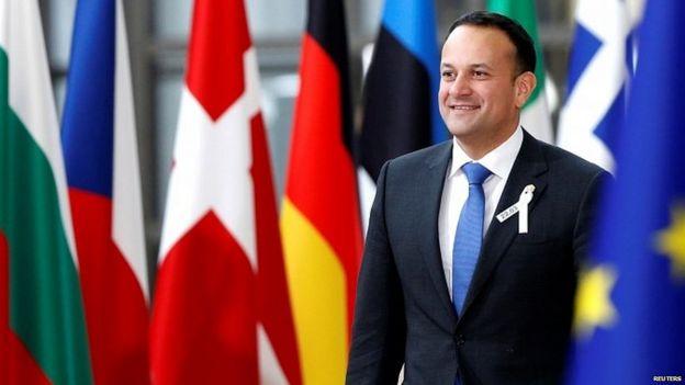 Irish premier Leo Varadkar