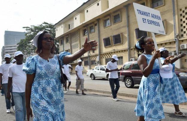 روز جهانی کارگر در آبیجان پایتخت ساحل عاج