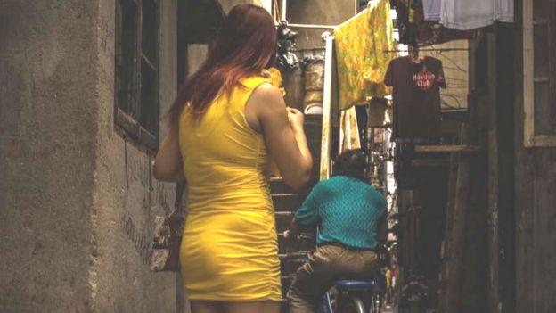 چین جسم فروشی