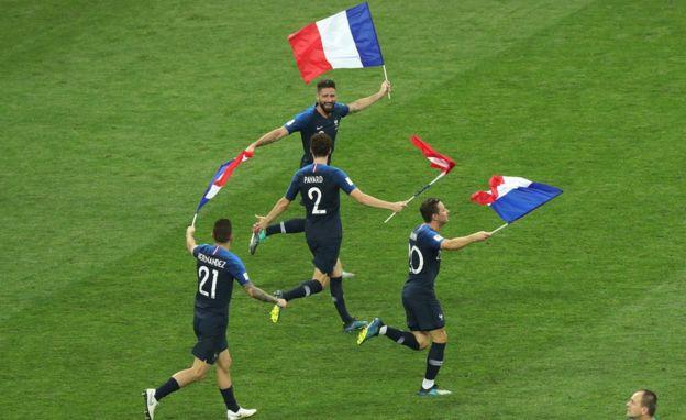 Franceses celebran