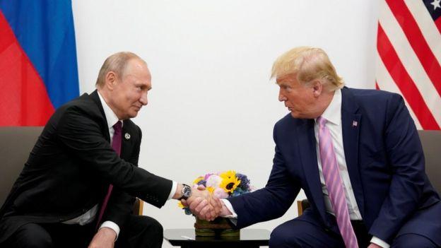 2019年普京和特朗普会晤