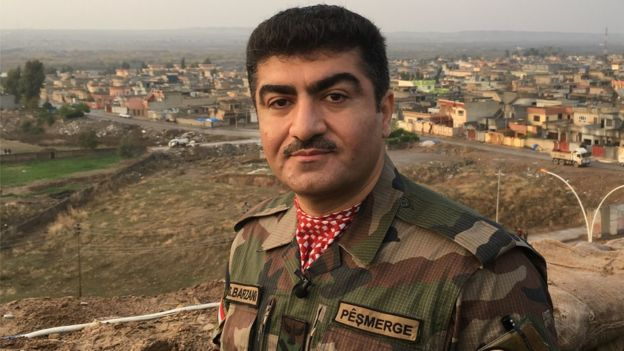 Major General Sirwan Barzani