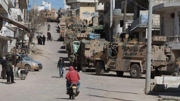 قوات تركيا داخل سوريا