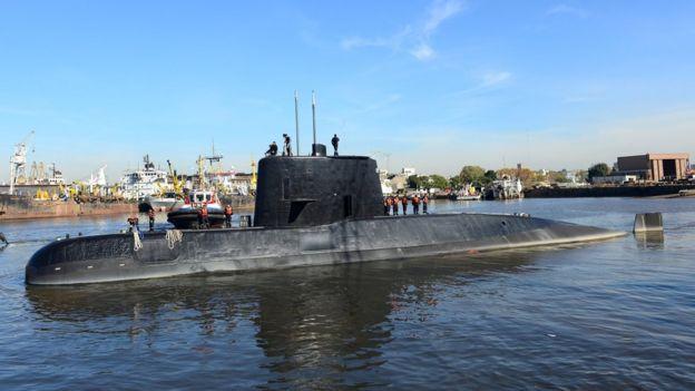 گم شدن زیردریایی آرژانتینی به یک معما تبدیل شده است