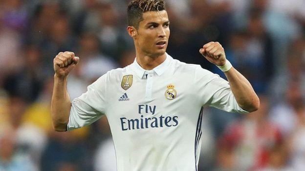 Christiano Ronaldo aliichezea Man United klabu ya Kuelekja Real madrid