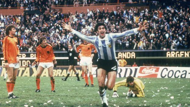 Argentina en la final del Mundial