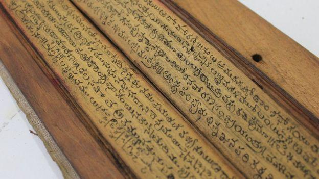 Fotografía de manuscritos.