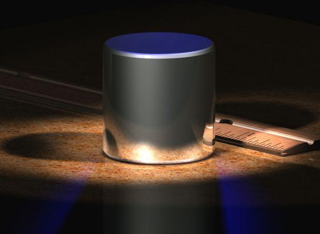 Prototipo para medir el kilo. Foto: Wikipedia