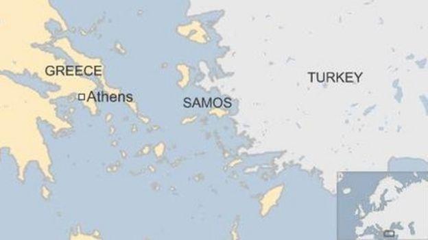 Migrant crisis 26 drown off Samos island near Turkey BBC News