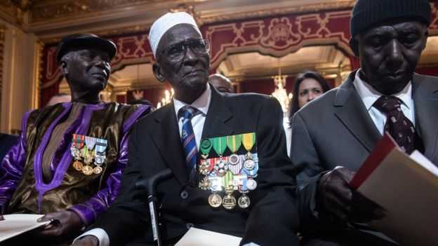 france gives citizenship to 28 african ww2 veterans bbc news