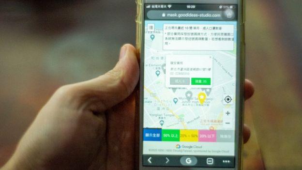 Tayvan'da da cep telefonlarında takip sistemi var.