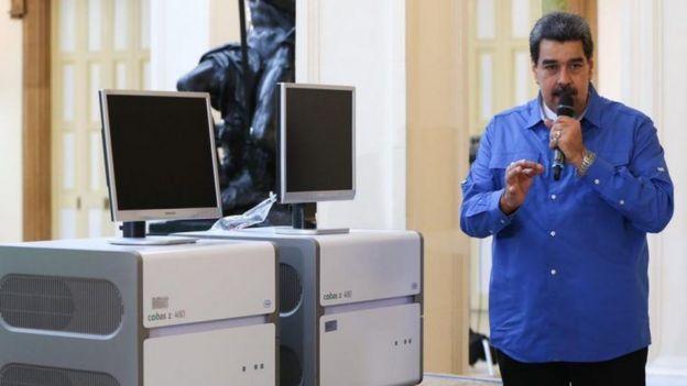 কলম্বিয়াকে দুইটি রোগ শনাক্ত যন্ত্র উপহার দেয়ার প্রস্তাব দিয়েছিল ভেনেজুয়েলা