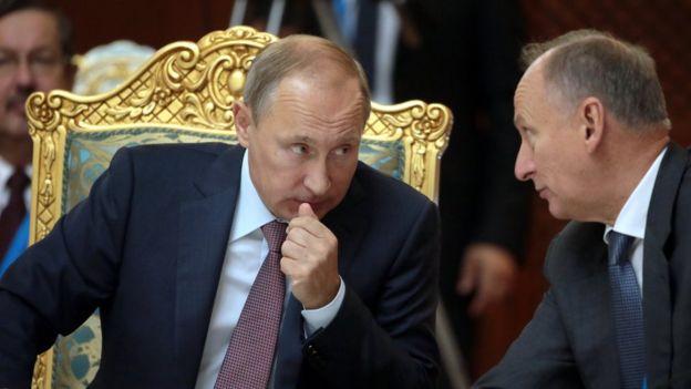 владимир путин и николай патрушев