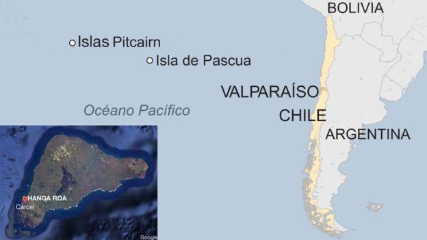 Isla de Pascua mapa