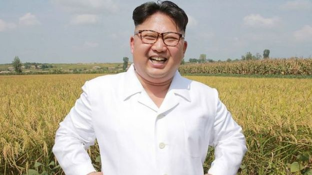 Foto del líder coreano Kim Jong-un