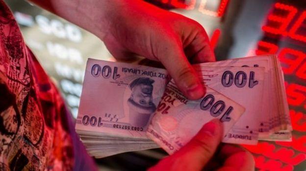 TL banknotları