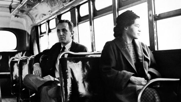 Rosa Parks em foto de 1956