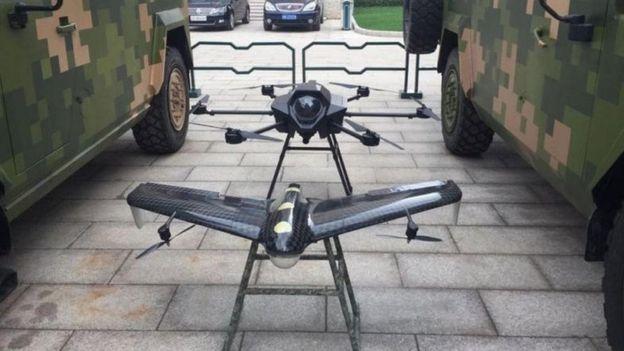dron chino
