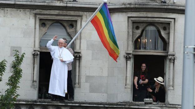 Pope flag