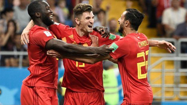 فازت بلجيكا بصعوبة على منتخب اليابان في دور الستة عشر