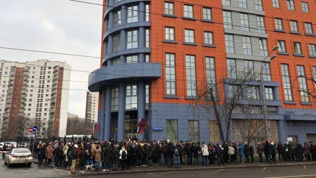 очередь в Тверской суд
