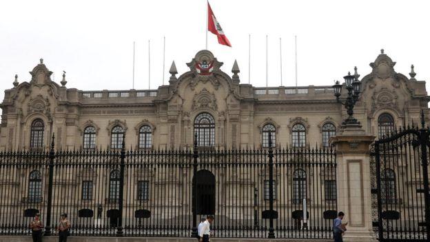 Palacio de Gobierno de Perú