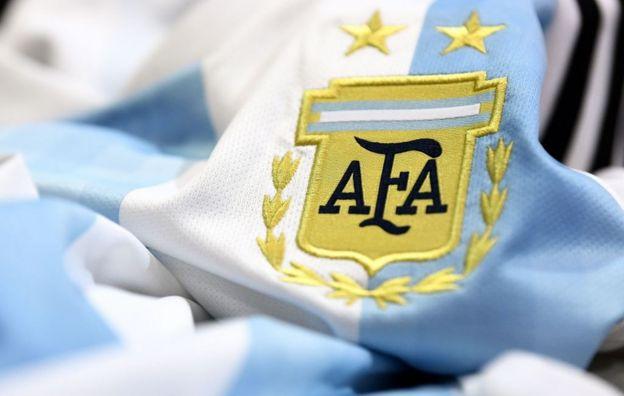 Camiseta de Argentina