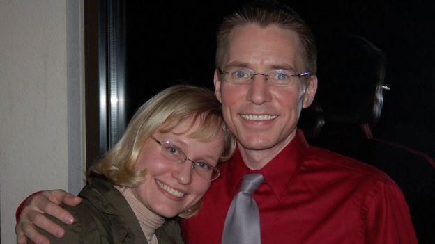 Padgett y su esposa