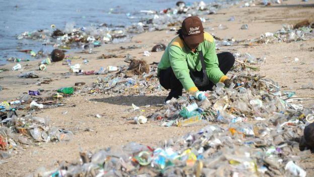 Bali S Battle Against Plastic Pollution Bbc News