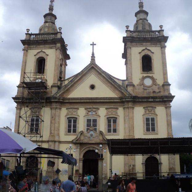 Antiga Igreja de Aparecida