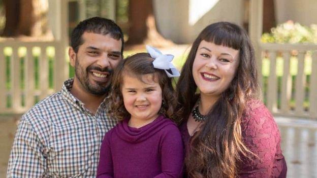 Liam y su familia