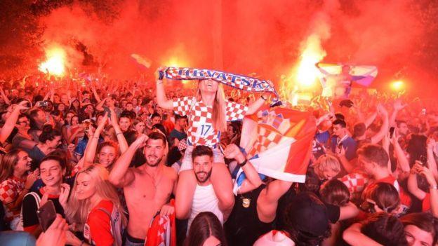 自1950年烏拉圭奪冠以來,克羅地亞是打入世界杯決賽的最小國家。