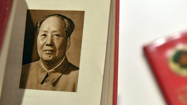 《毛主席語錄》中的毛澤東肖像