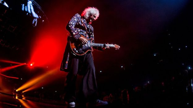 Brian May guitarrista de la banda Queen