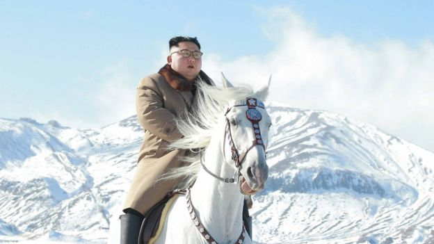 Kim's horseback ride spurs speculation over policy shift