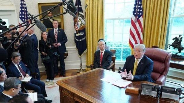 特朗普总统在贸易问题上一直对中国采取强硬态度