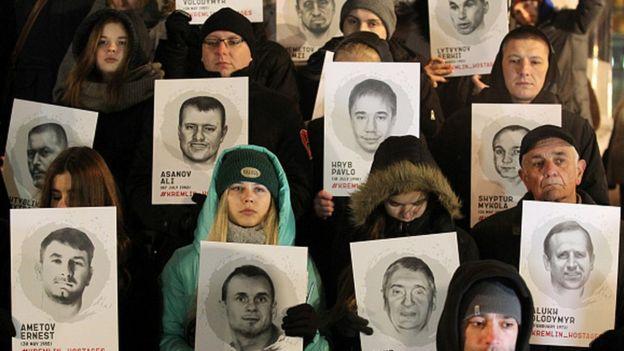Акція на підтримку українських в'язнів