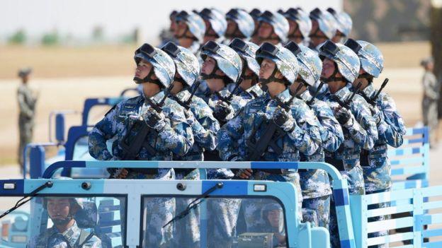 中國人民解放軍建軍90週年閲兵