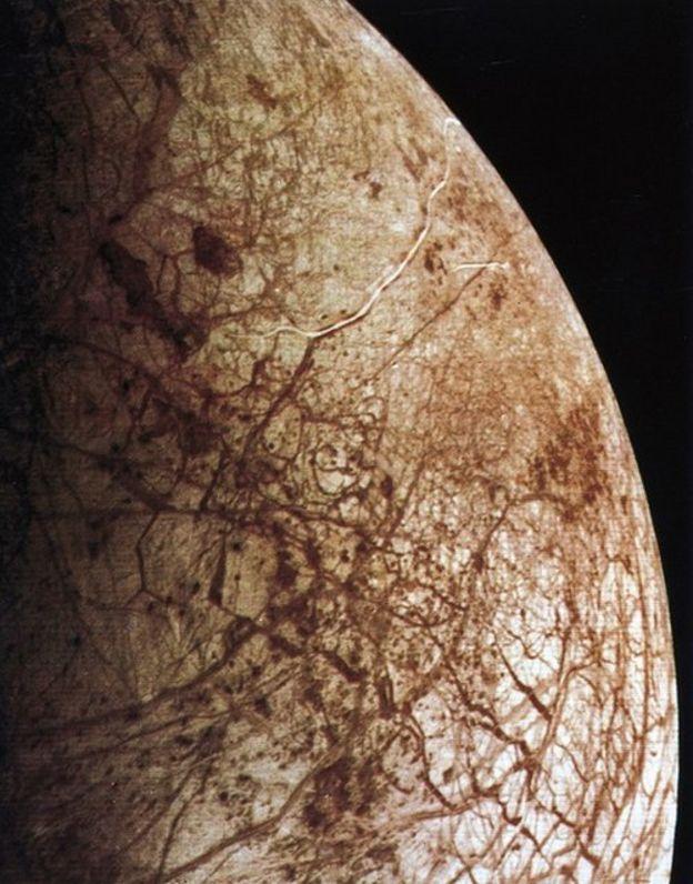 Europa, la luna de Júpiter