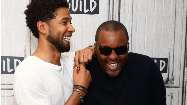 Jussie Smollett and Lee Daniels