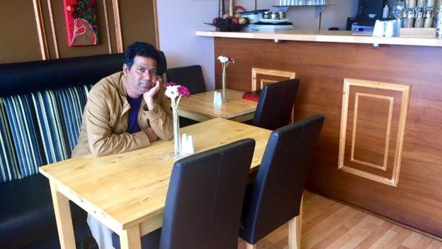Mohammed Parvez, owner of Rannaghor in Edinburgh's Currie
