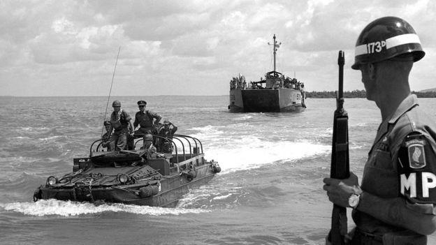 Lính Úc tham chiến tại Nam Việt Nam từ 1965