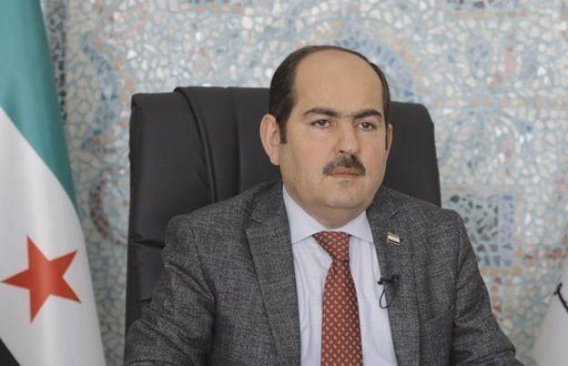 Suriye Geçici Hükümeti Başkanı Abdurrahman Mustafa