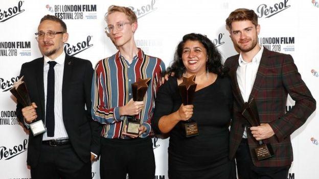 سودابه مرتضایی برنده جایزه بهترین فیلم جشنواره لندن شد