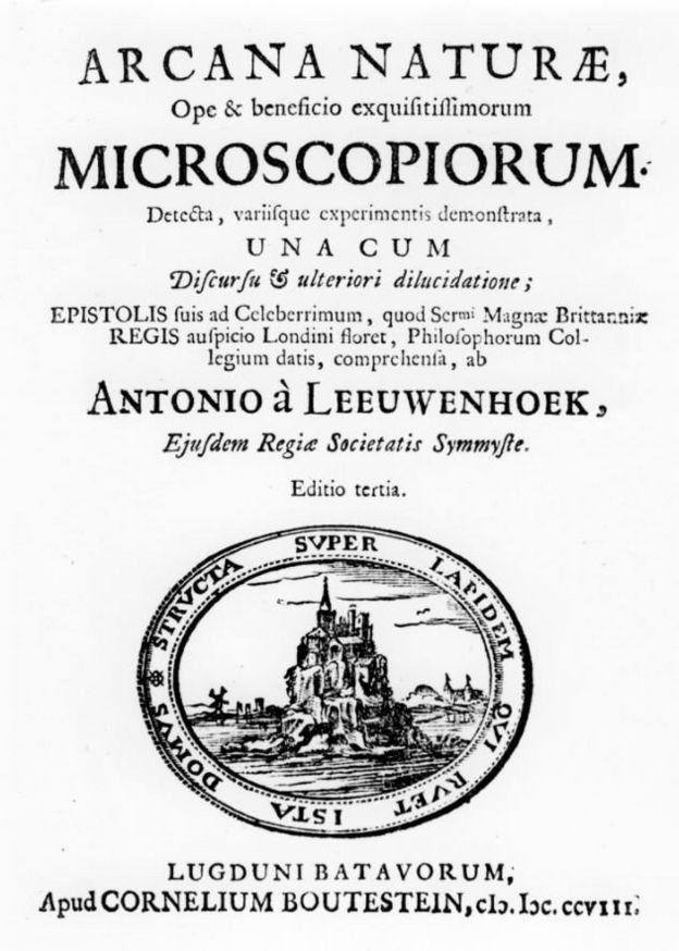 Estudo de Anton van Leeuwenhoek