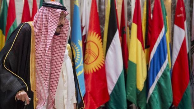 الملك سلمان بن عبد العزيز في قمة مكة