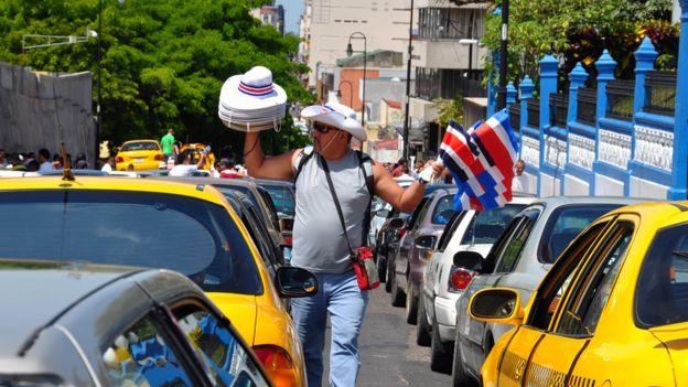 Tráfico en San José