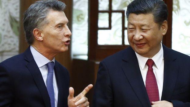 Macri e Xi